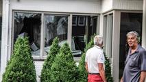 First-gen Audi S8 accident in Belgium 21.06.2013