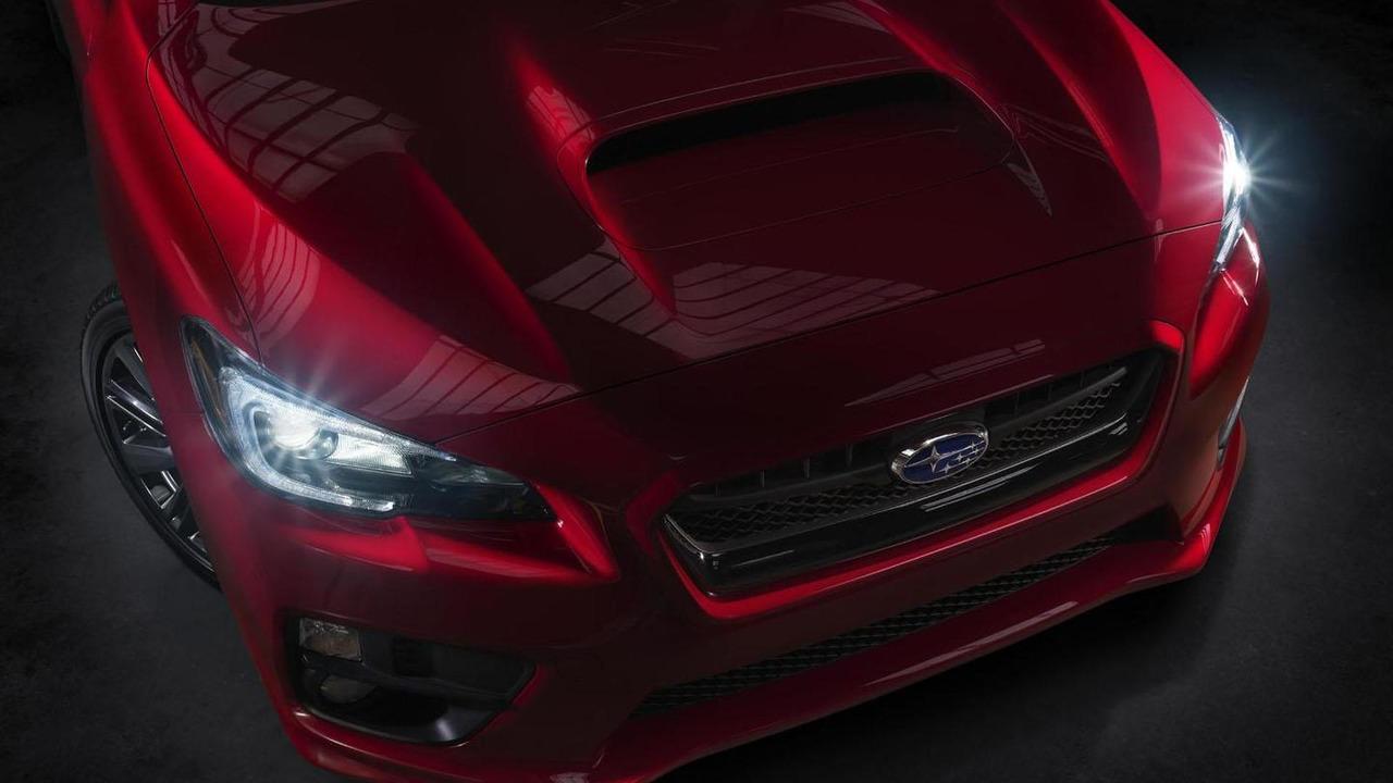 2015 Subaru WRX teaser image 11.11.2013