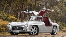 1954 Mercedes-Benz 300 SL with official AMG restomod to be auctioned