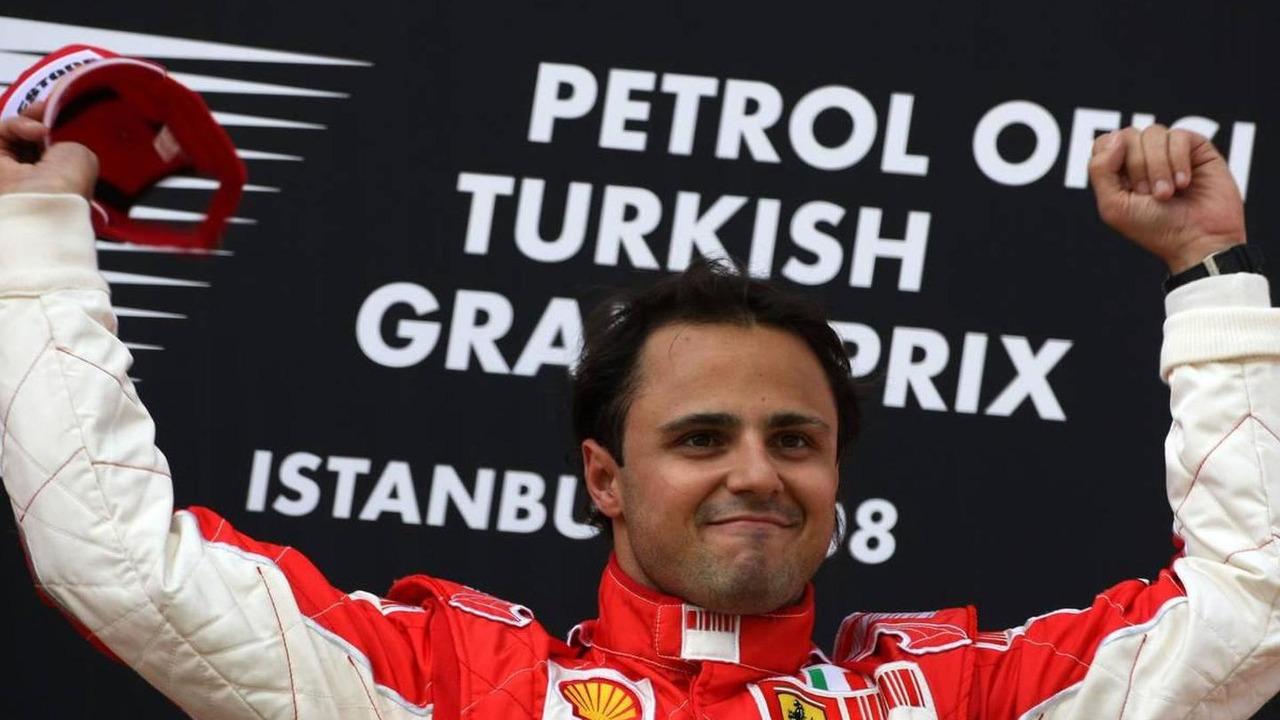 Felipe Massa (BRA), Scuderia Ferrari, wins the race, Turkish Grand Prix, 11.05.2008 Istanbul, Turkey