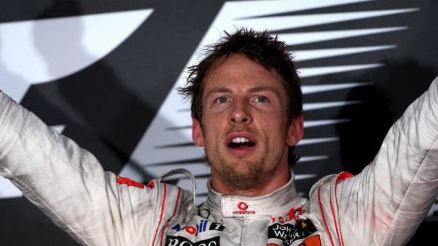Button 'best F1 driver in wet' - Villeneuve