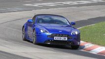 2011 Aston Martin Vantage Roadster facelift spied at Nurburgring