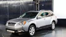2010 Subaru Outback Surprises New York Crowds