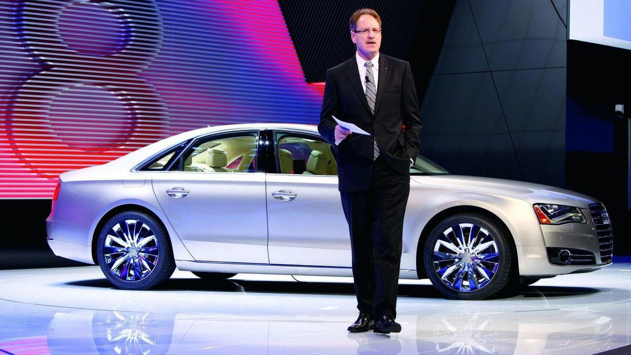 2011 Audi A8 Sedan at 2010 NAIAS in Detroit 11.01.2010