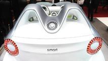 Smart Forspeed concept live in Geneva - 01.03.2011