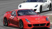 Ferrari 599XX on Nurburgring
