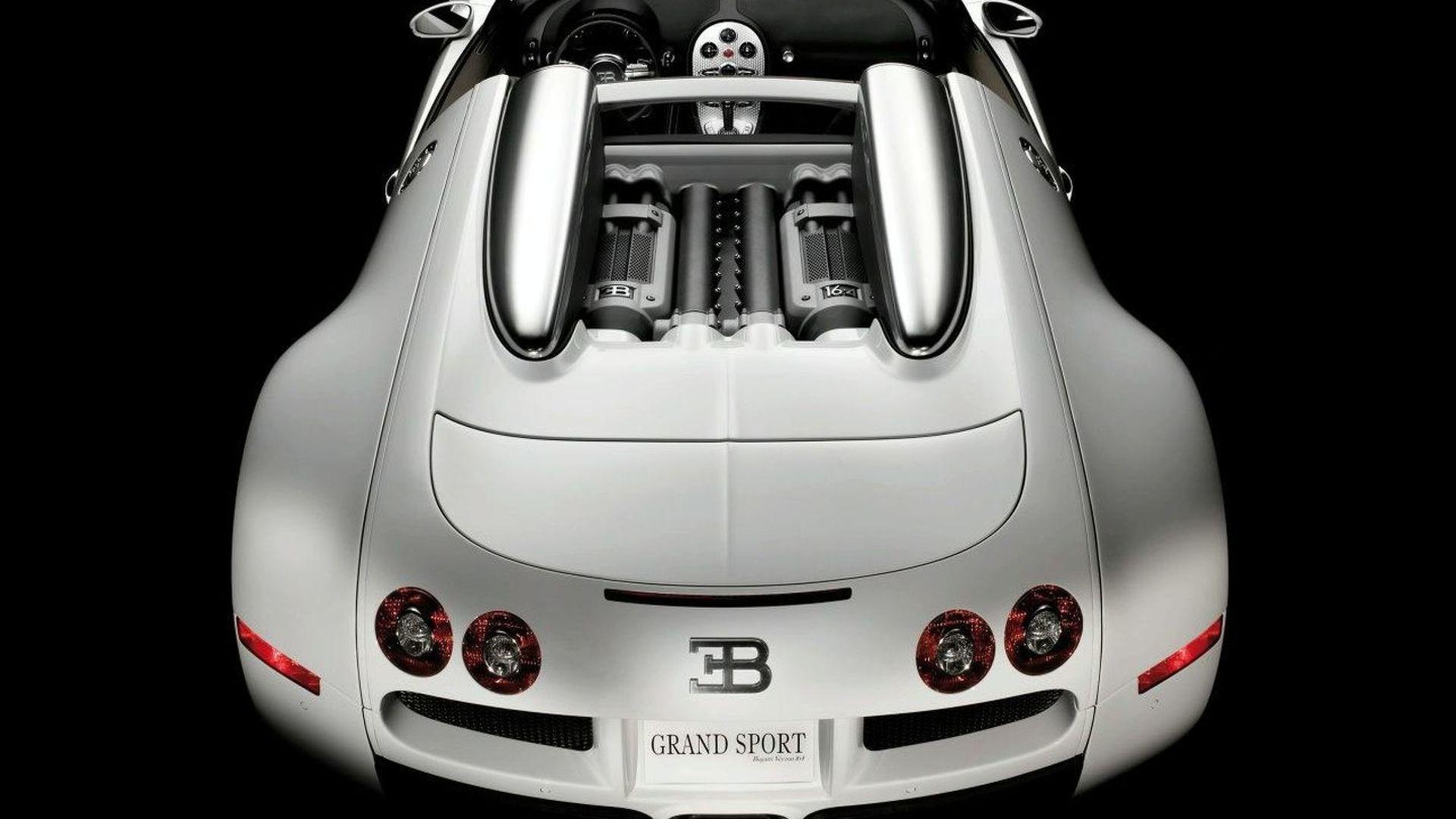 Bugatti Veyron 16.4 Grand Sport Roadster Revealed
