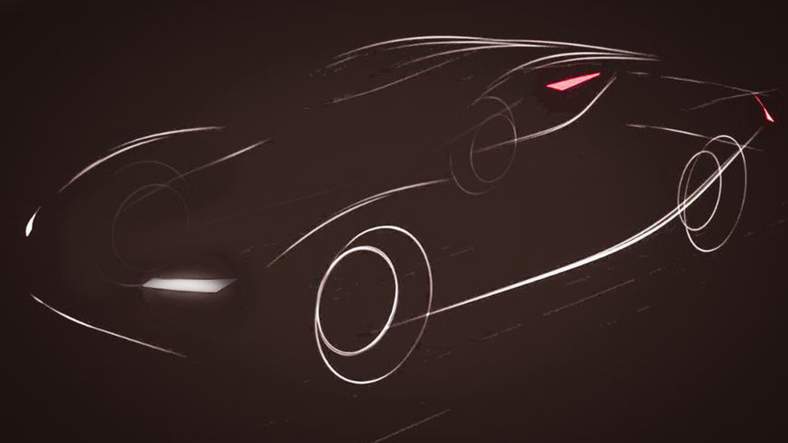 New Chinese EV company teases first model