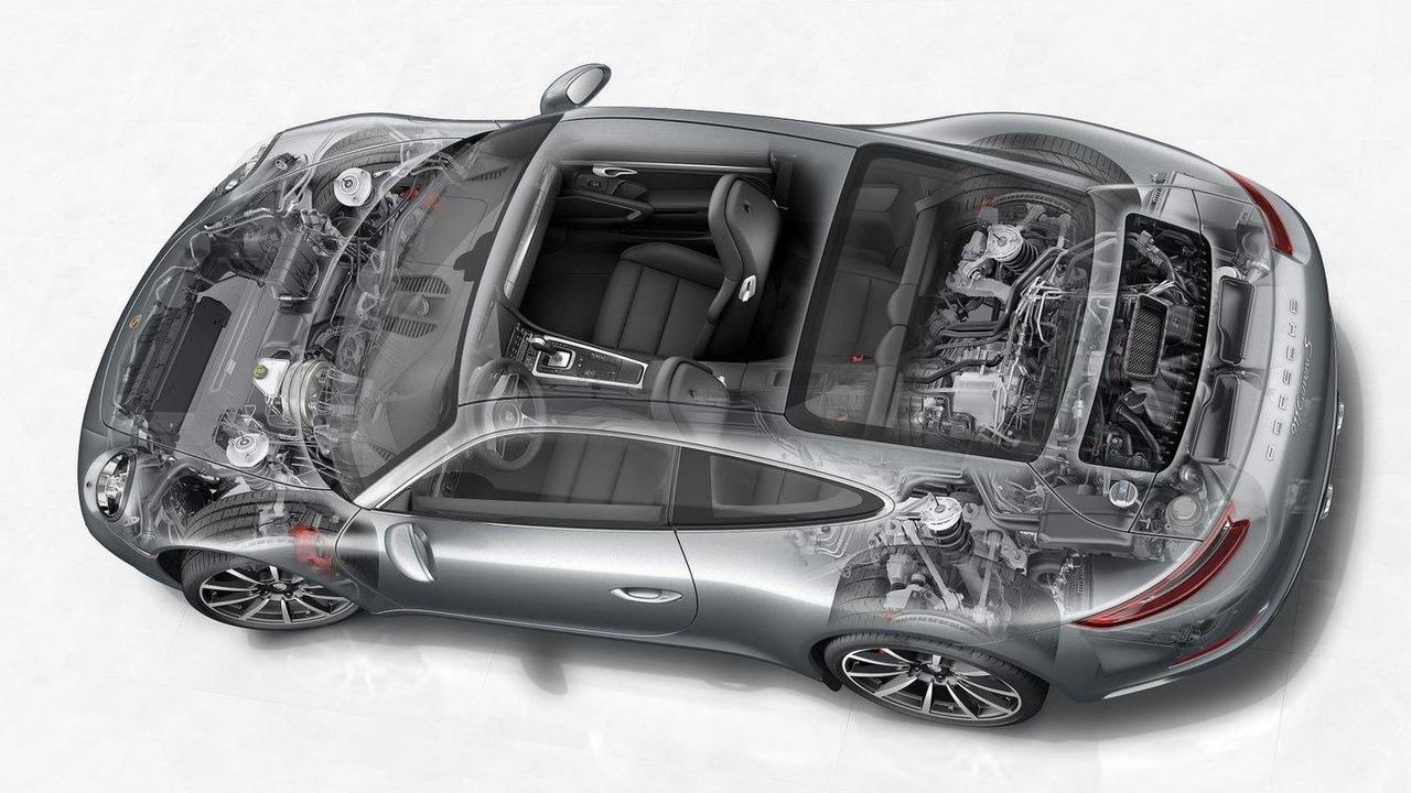 2016 Porsche 911 Carrera facelift