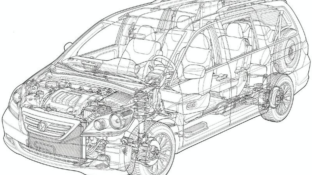 Honda Odyssey - Ghosted cut-out