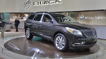 2013 Buick Enclave facelift live in New York 04.04.2012