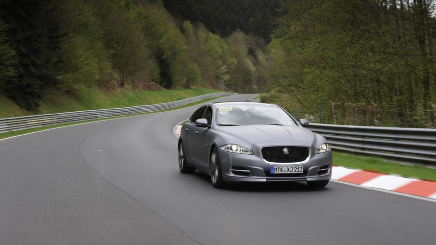 Jaguar XJ Supersport Nürburgring taxi announced