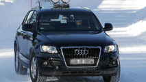 2014 Audi Q5 facelift spy photo
