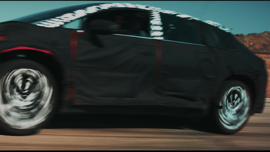 Latest Faraday Future tease shows a little more of production model's leg