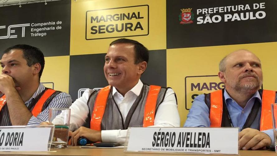 Justiça permite aumento de velocidade nas marginais em SP