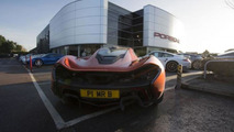 Paul Bailey's McLaren P1