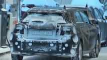 2013 Mercedes A-class spy video