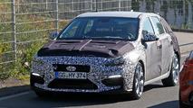 Hyundai i30 N looks ready to fight the Golf GTI