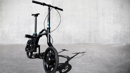 Peugeot eF01 electric folding bike revealed
