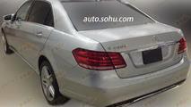 Mercedes-Benz E400L Hybrid spied in China