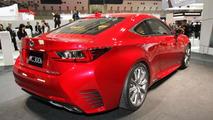2014 Lexus RC at Tokyo Motor Show