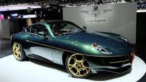 Touring Superleggera Alfa Romeo Disco Volante in Geneva