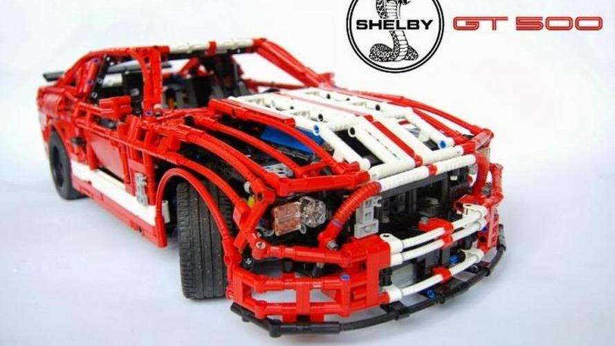 Lego-made 1:8 Shelby GT500 is insanely detailed [video]