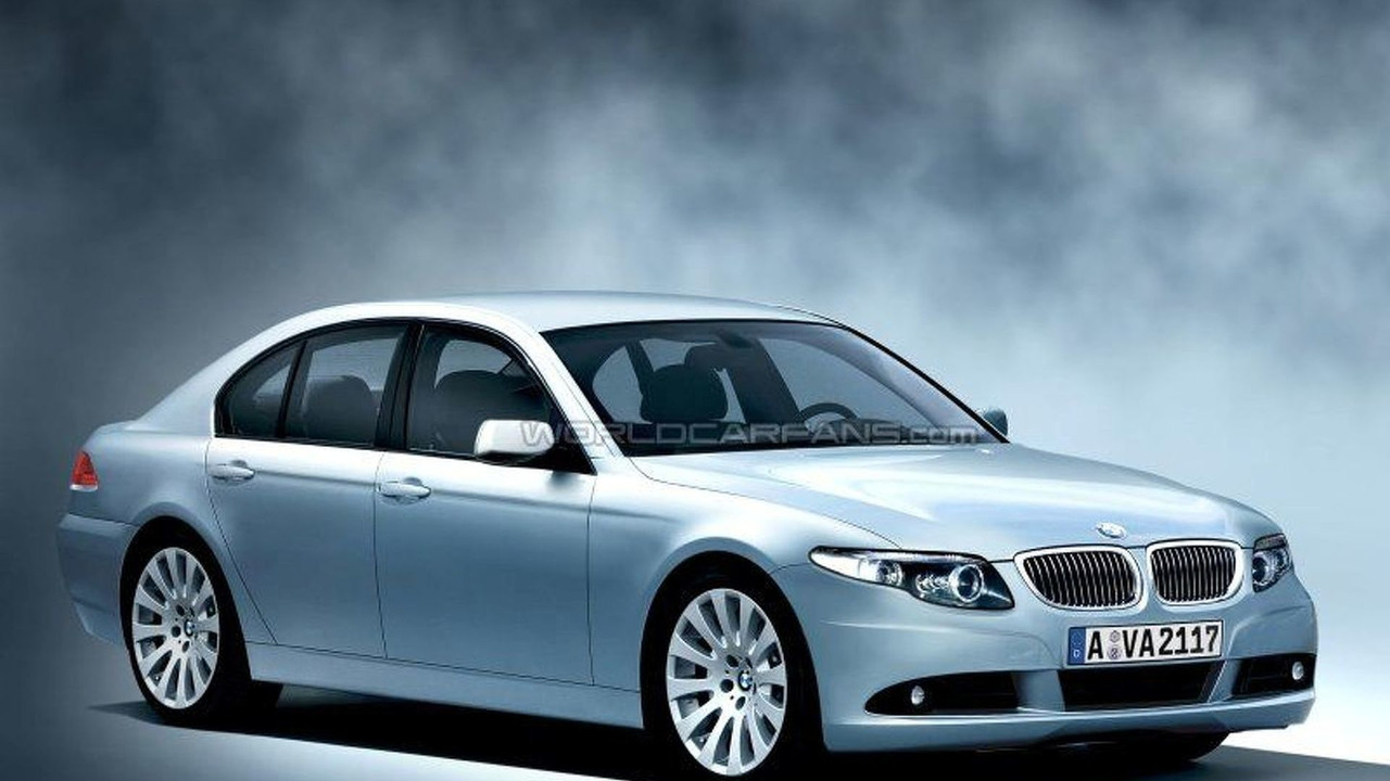 Next BMW 7 Series - artist impression
