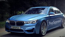 BMW M7 rendering previews a possible range-topping 7-Series