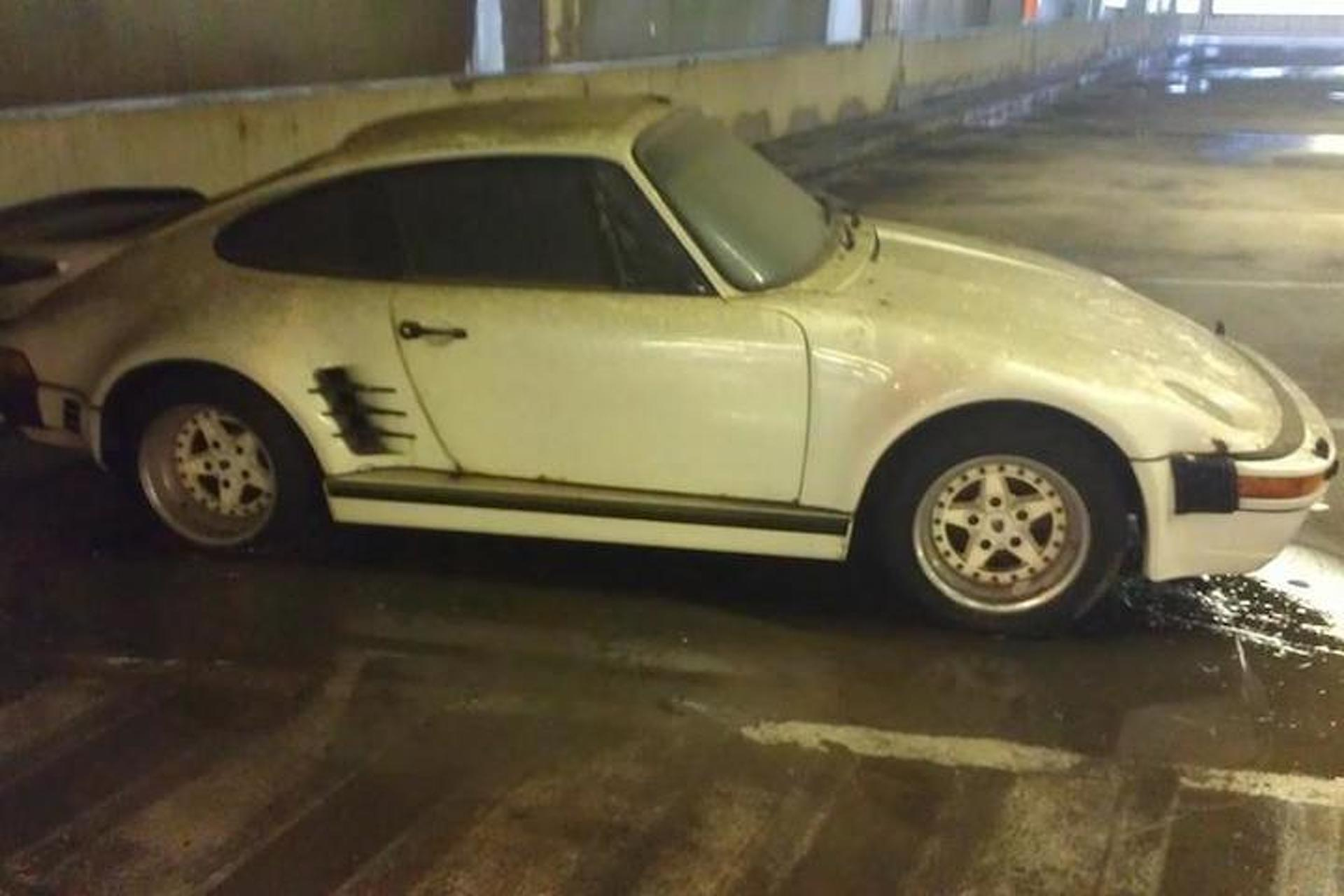 Someone Save this Abandoned Porsche 930 Slantnose