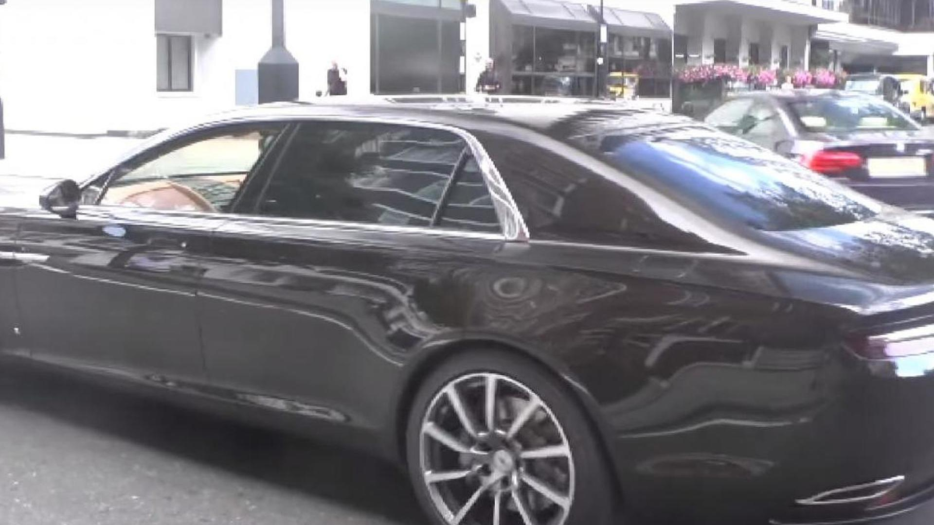 Aston Martin Lagonda looks massive on London streets [video]