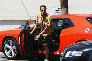 Arnold Schwarzenegger's Car Collection: Large and In Charge