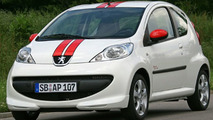 Peugeot 107 Street Racing and Street Racing Cool Editions