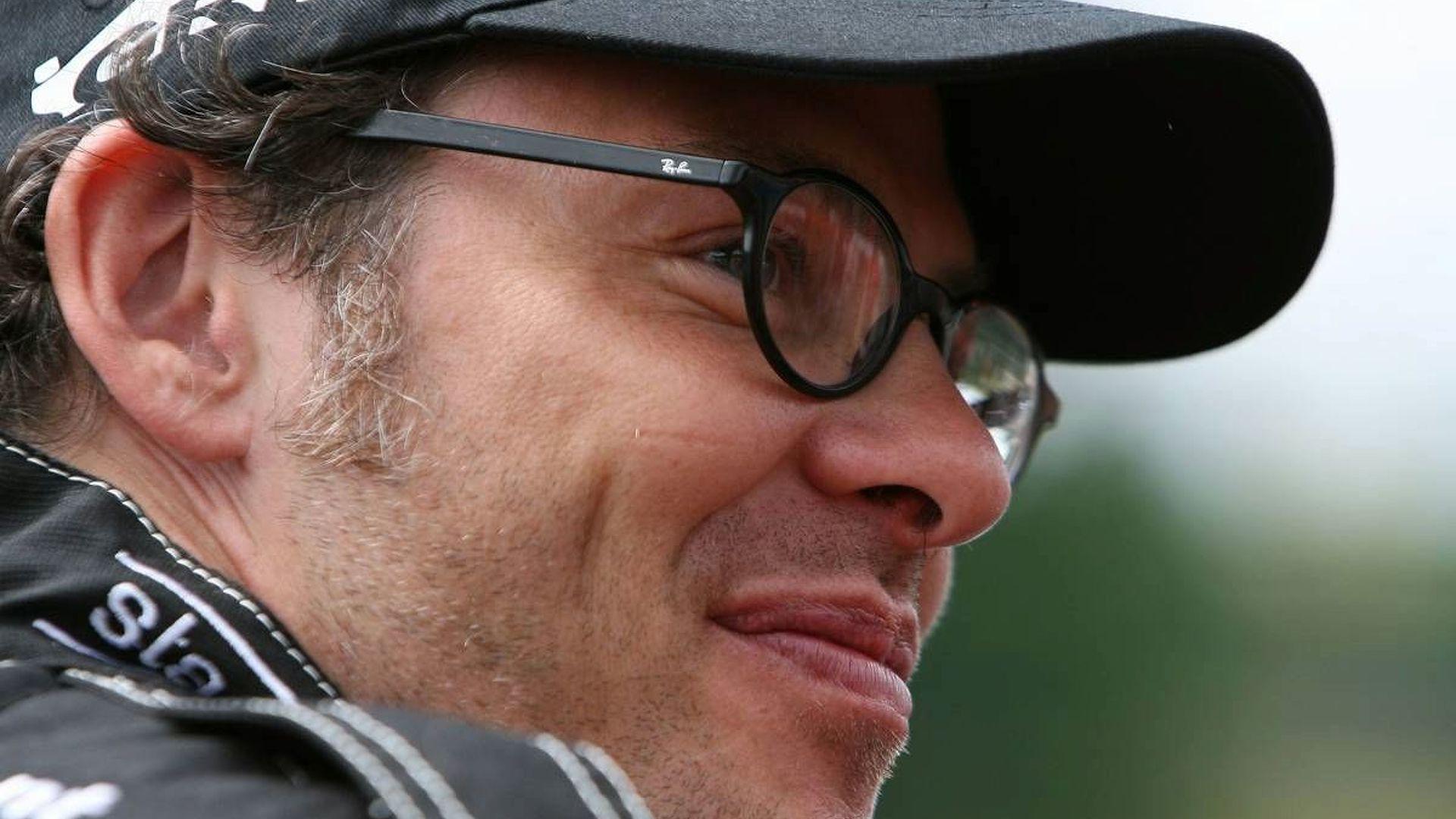 Villeneuve plays down F1 links to Gaddafi Jr