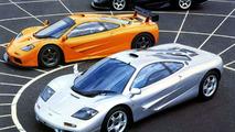 McLaren F1 roadcar family
