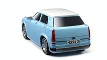 All-Electric Trabant Prototype