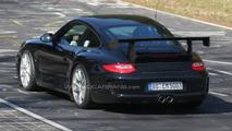 Porsche 911 GT3 RS facelift spy photos