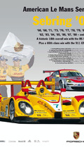 Sebring Poster 2008: Porsche RS Spyder