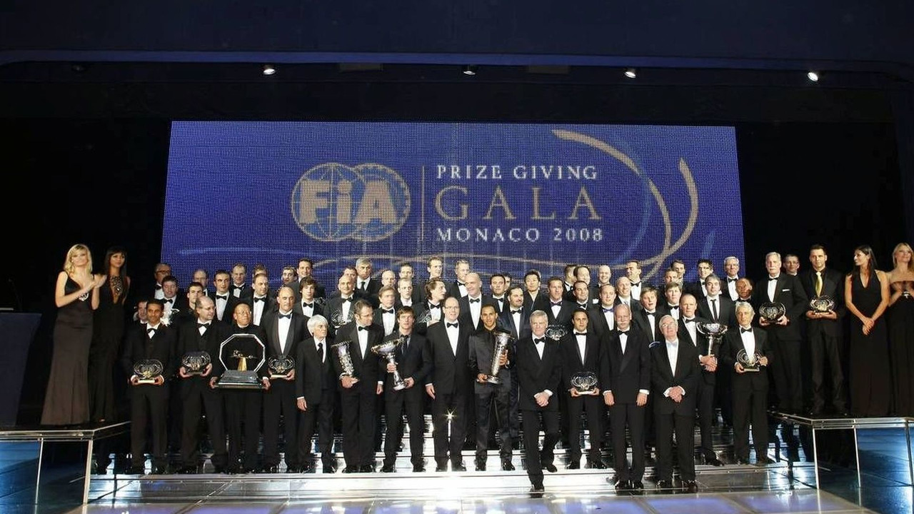 FIA Trophy Winners (Group), 2008 FIA Gala Prize Giving Ceremony, 12.12.2008 Monte-Carlo, Monaco