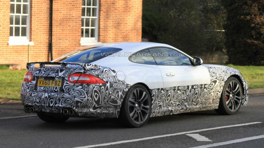 2012 Jaguar XK-R facelift spied