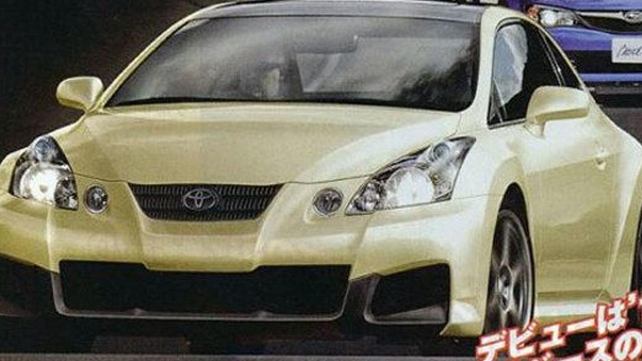 Toyota/Subaru Coupe artist rendering
