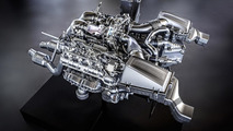 Mercedes-AMG detail their new V8 4.0-liter twin-turbo engine