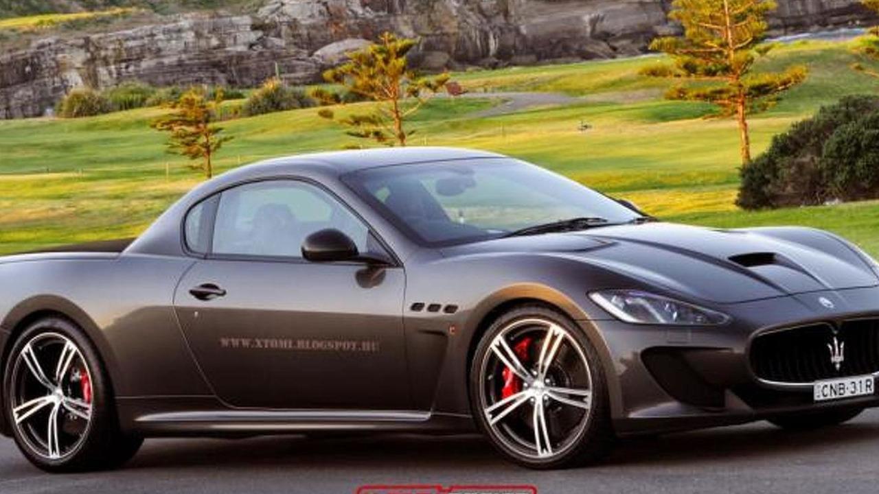 Maserati GranTurismo MC Stradale pick-up rendering / X Tomi