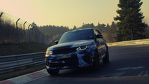 2015 Range Rover Sport SVR becomes fastest SUV on Nurburgring with 8:14 lap
