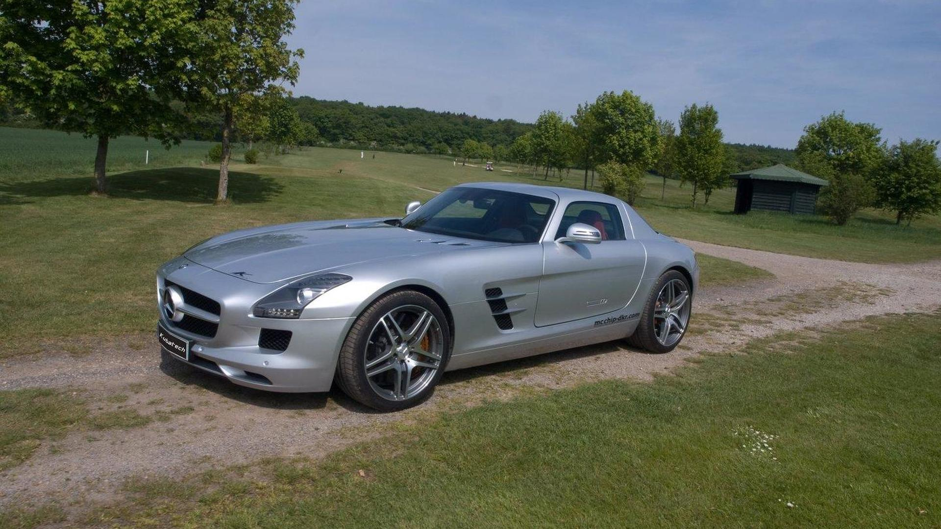 Mercedes-Benz SLS AMG power upgrade by Kubatech