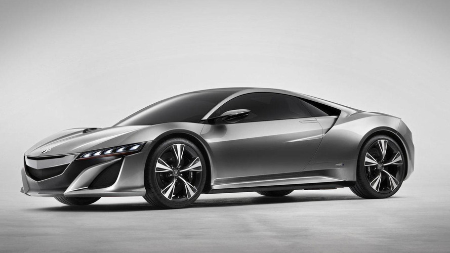 Acura NSX production version heading to Detroit - report