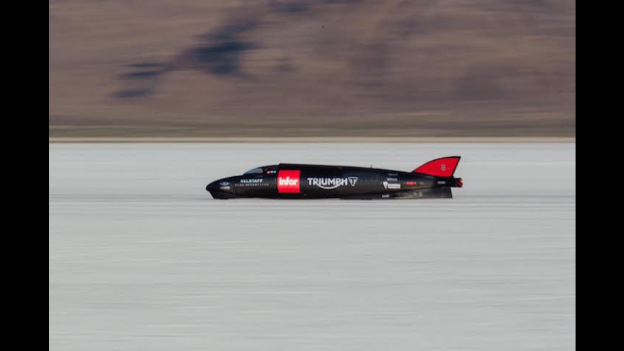 Guy Martin Set A New Land Speed Record For Triumph