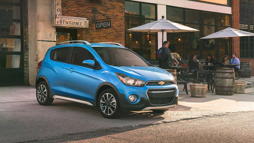 Chevrolet turns tiny Spark into tough Activ crossover