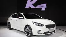 Kia prepares K4 concept for Beijing