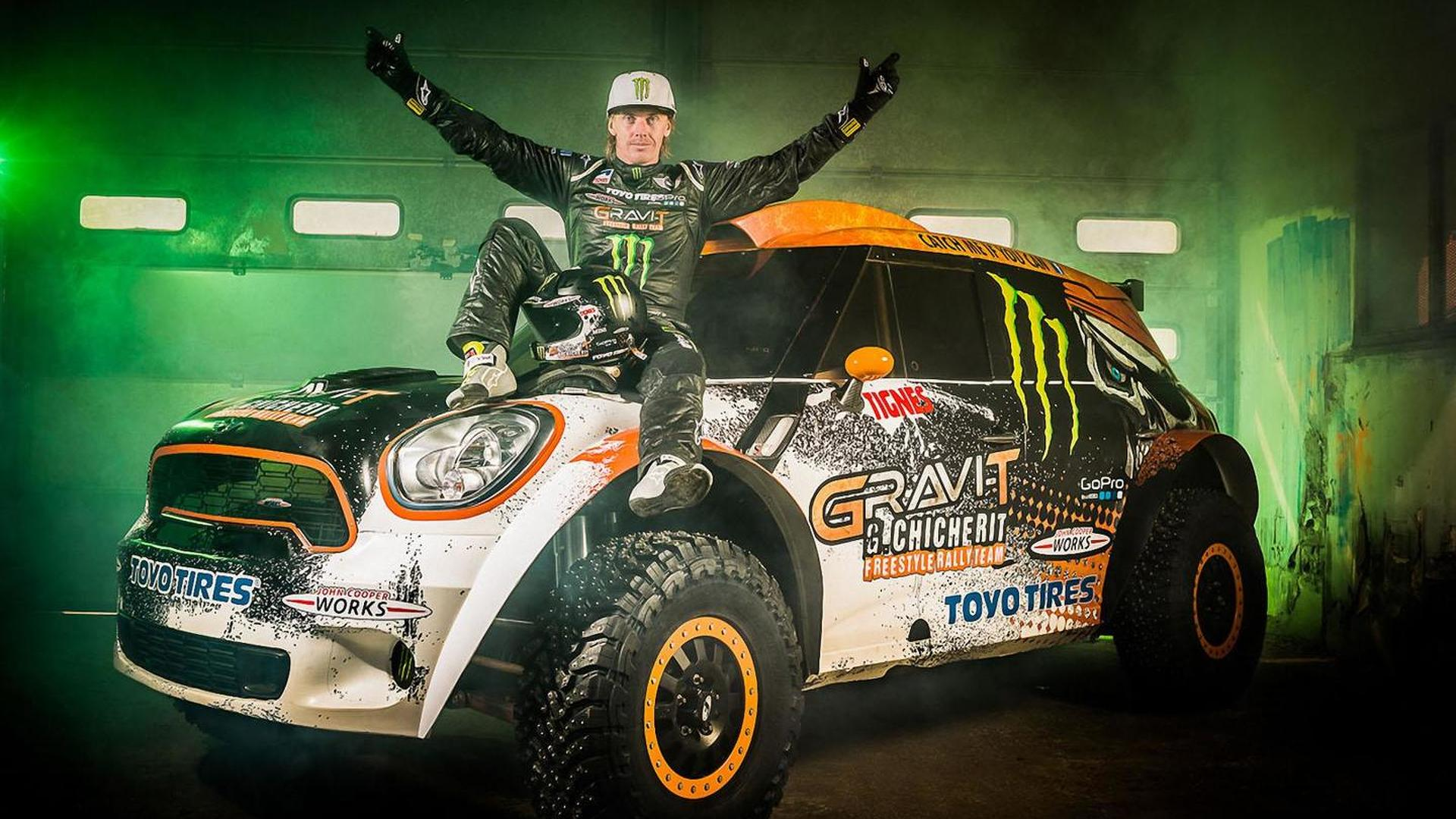 Guerlain Chicherit's longest car jump in the world attempt ends with brutal crash [video]